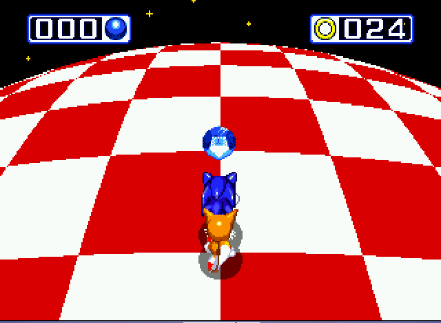 Sonic and Knuckles & Sonic 3 - chaos emerald 4 - User Screenshot